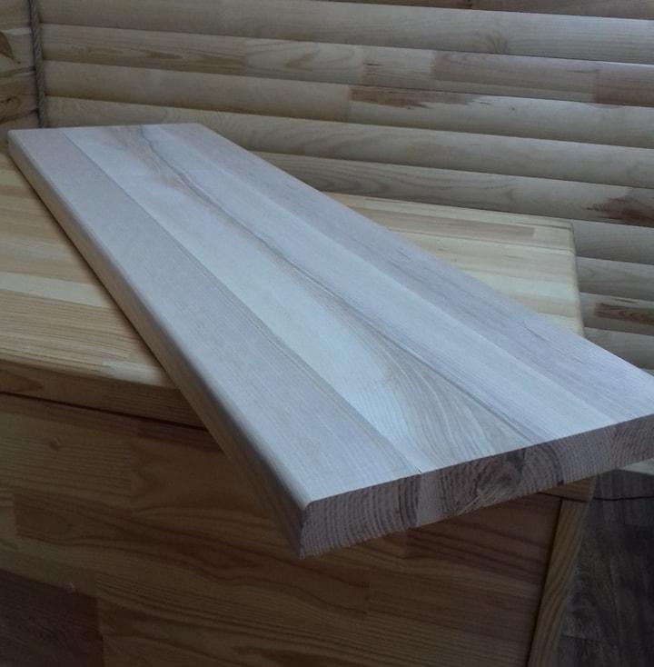 Деревянные ступени для лестниц из лиственницы, сосны, бука